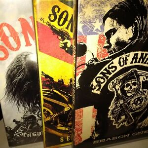 MUST GO, LAST CHANCE!!! SEASON 1-3 OF SONS OF ANARCHY