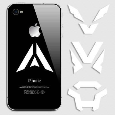 Colossus Interceptor Storm Ranger Anthem Game Sticker for iphone Javelin 4pk (Storm Javelin)