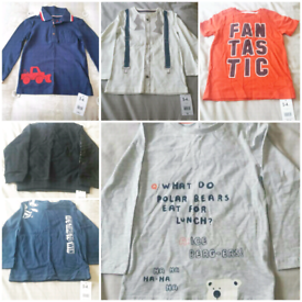 Boys new age 3/4 clothes price for all