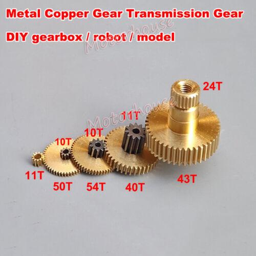 Metal Steel Brass Copper Motor Gear Transimission Gear Wheel F Gearbox Robot Car