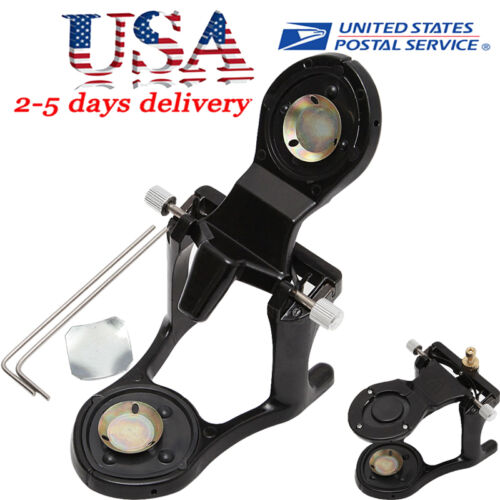 Dental Laboratory Deluxe Magnetic Articulator with Incisal Pins Adjustable USA