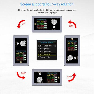 1pcs Digital Dc Buck Boost Converter Regulator Step Up Down Power Supply Module