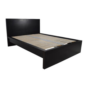 King size bed frame with headboard & 2 nightstands