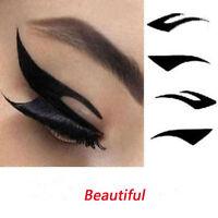 8 Pairs Beautiful Temporary Eye Tattoo Transfer Eyeshadow Eyeliner Stickers Ni - unbranded - ebay.co.uk