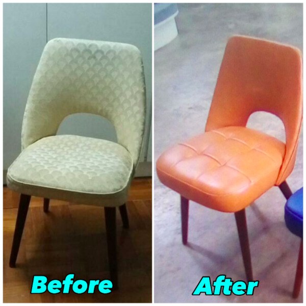 Fully Restored Mid-Century Chair