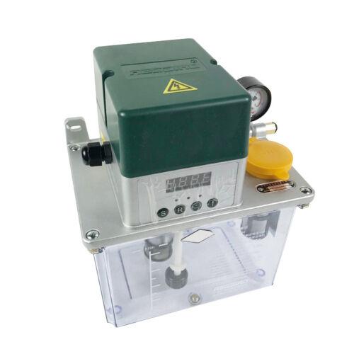220V 3L Auto Lubrication Pump CNC Digital Electronic Timer Automatic Oiler