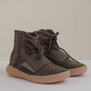 ADIDAS YEEZY BOOST 750 CHOCOLATE BROWN SIZE 6 MENS (8 WOMENS)