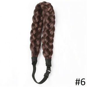 Adjustable natural Braided Hair Headband,Hair extensions Yellowknife Northwest Territories image 7