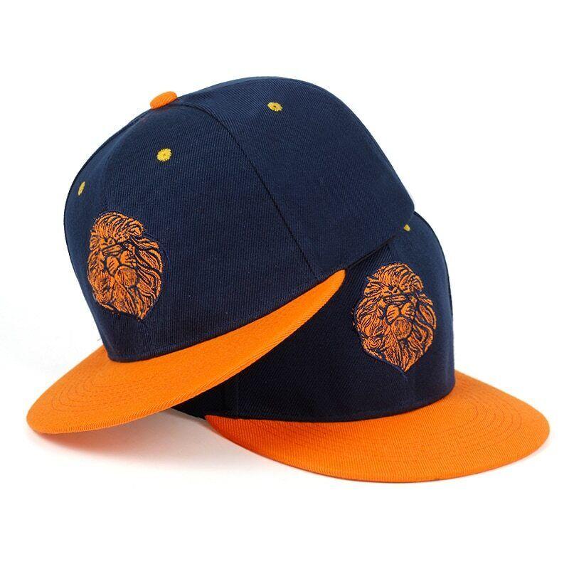 Hat Snapback Cap Hip Hop Baseball Flat Adjustable Skull Embroidered Mens Hats