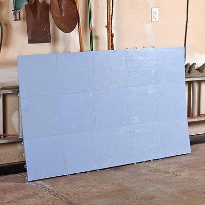 "Slick Tiles Dryland Hockey Flooring 20 12"" By 12"" Tiles Blue Hockey Practice"