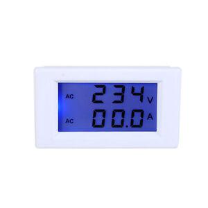 Hi-Q-AC-Digital-Ammeter-Voltmeter-LCD-Panel-100A-300V-Amp-Volt-Meter-110V-220V