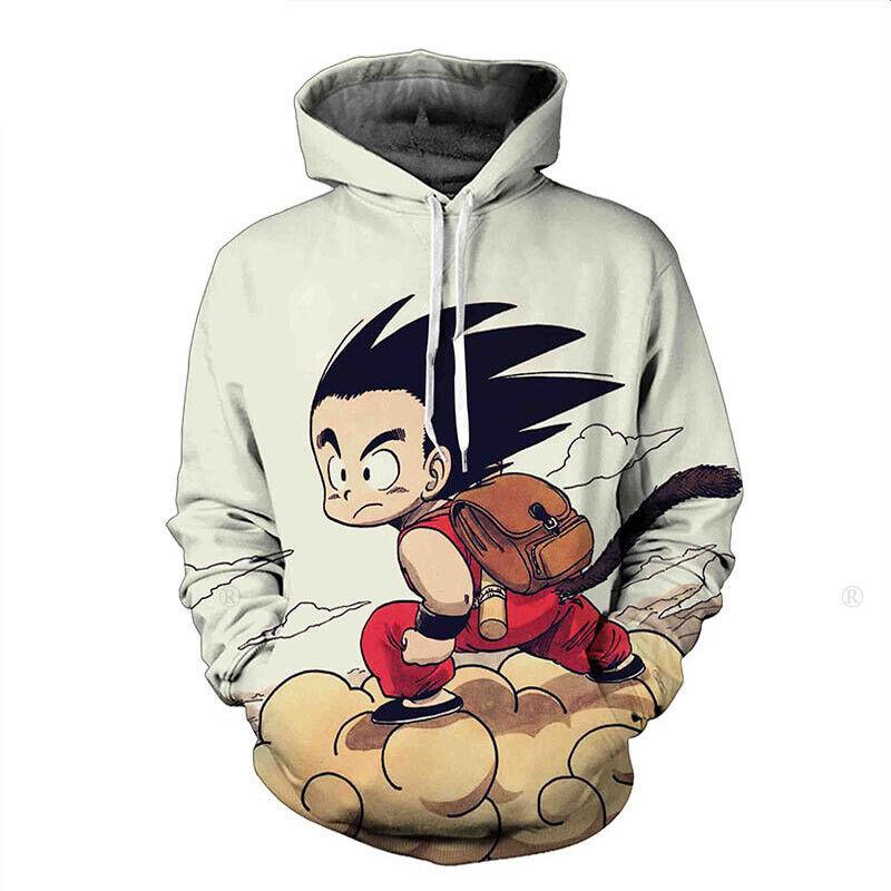 Dragon Goku Mens Womens Hoodie
