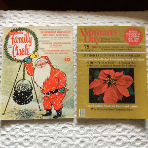 Vintage Lot December (Christmas) Family Circle and Woman's Day