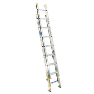 24 foot, medium weight/grade extension ladder