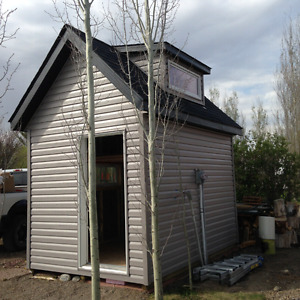 Custom Pre-fab Garden / Tool Sheds for Sale!