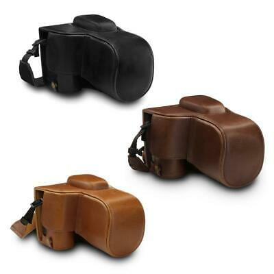 MegaGear Nikon D3500 Ever Ready Leather Camera Case and Stra