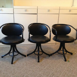 Bentwood swivel chairs $75.00
