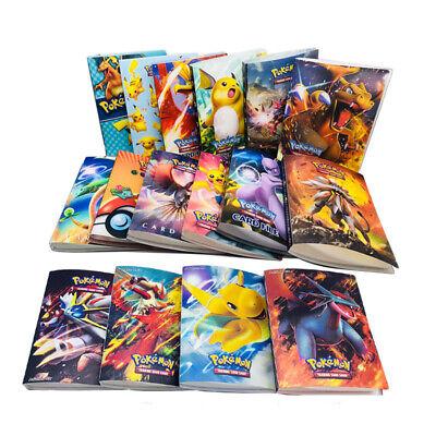 240pcs Pokemon Cards Album Holder Book Francaise Cards Box Game Card Holder Card