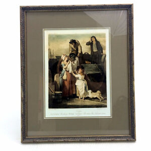 Cries Of London Plate 7 Engraved Lithograph Fresh Gathered Peas