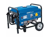 EXPERT 2.5KVA/2.5KW PETROL GENERATOR WITH WHEELS............Brand New Sealed