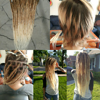 Dreadlocks and Braid in dreadlock extensions