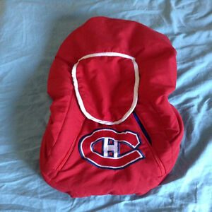 Baby carrier winter cover (Canadian Montreal- NHL)