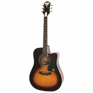 *EPIPHONE* PRO-1 ULTRA ACOUSTIC-ELECTRIC GUITAR - VIN. SUNBURST