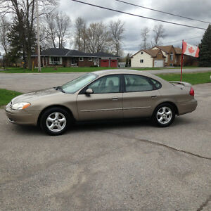 2003 Ford Taurus Sedan CERTIFIED & E TESTED LOW KMs!!!