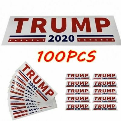 100pcs Donald Trump for President 2020 Make America Great Again Stickers US KY