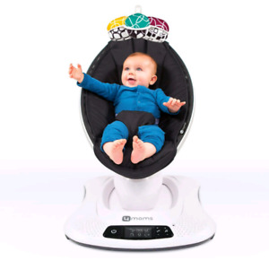 4 moms mamaroo 4.0 with infant insert excellent condition