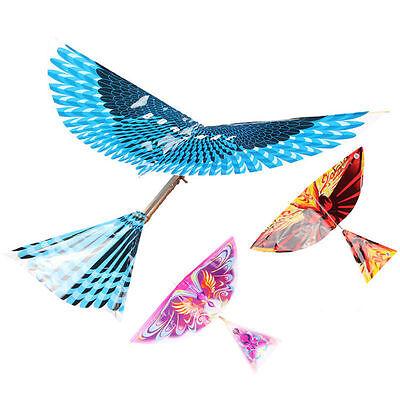 1PCS Creative Kids Handmade DIY Bionic Air Plane Bird Model Science Kite Toys