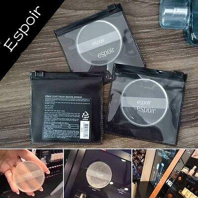 Espoir Silicone Puffs Glass Transparent Not Eat Powder Face Flutter Air Cushion