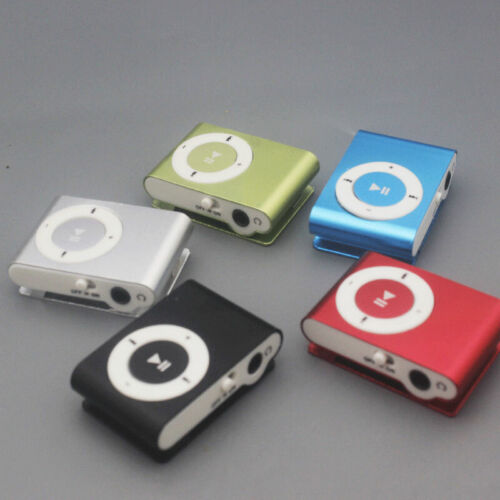 Portable MP3 Player Mini Clip MP3 Player Mini Walkman Mp3 wi