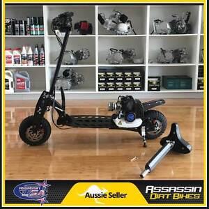 NEW Assassin USA DE4910 49cc Petrol Gas Scooter Adult Kids 2016 Taren Point Sutherland Area Preview
