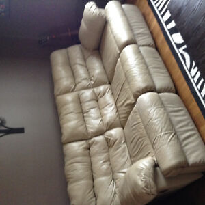 Three piece recliner set (couch and two chairs)