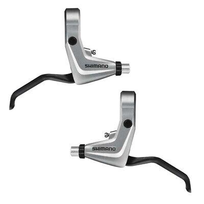 Shimano BL-T4000 Maneta de Freno MTB / Trekking 2-Finger Palanca Par Plata