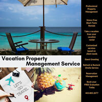 Manage your Vacation Rental Easily! We do it all for you!