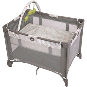 Gracco playard with changing station