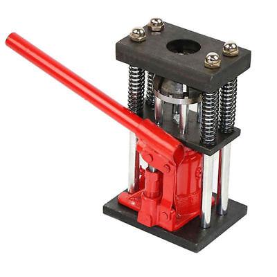 Usa 6 Tons Manual Hydraulic Hose Crimper Benchtop Bottle Jack Press Crimp