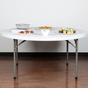 """Tables HDPE 60 """" Round and other sizes"""