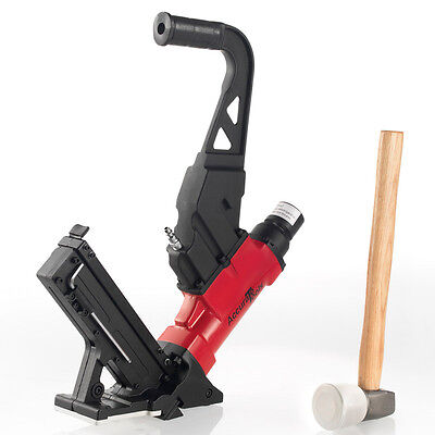 BRAND NEW HARDWOOD FLOORING CLEAT NAILER & WOOD FLOOR STAPLER PNEUMATIC AIR TOOL