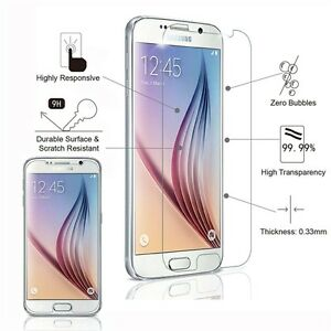 NEW TEMPERED GLASS SCREEN PROTECTOR FOR SAMSUNG S5 S6 NOTE 3 4