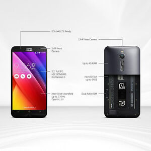 Asus ZenFone 2 DUAL SIM 4G LTE 64GB (used 9/10 condition)