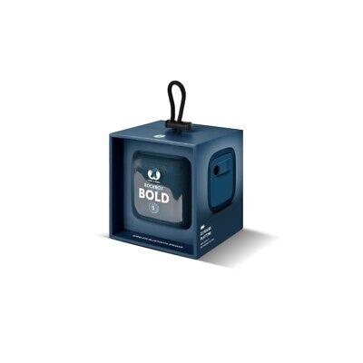 Altavoz Bluetooth Fresh 'N Rebel Rockbox Bold S Impermeable color Indigo (NUEVO)