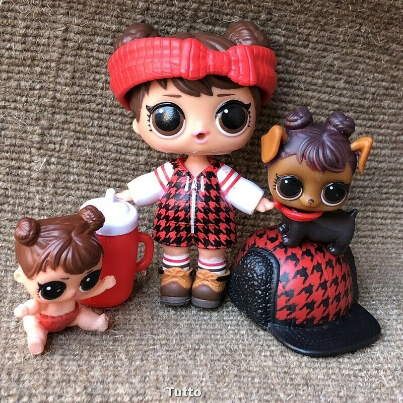 LOL Surprise Doll LIL BABE IN THE WOODS Series 4 LITTLE SIS LIL SISTER Dolls