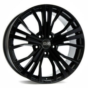 OZ Racing Black Rims 20x9.5,  5x130 offset