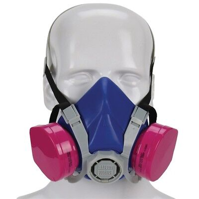 New Msa Safety Swx00319 Toxic Dust Half Mask Respirator P100 Filter 8696510