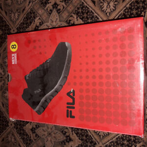 No 8 brand new in the box fila mans shoes