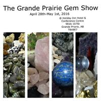 The Grande Prairie Gem and Mineral Show!