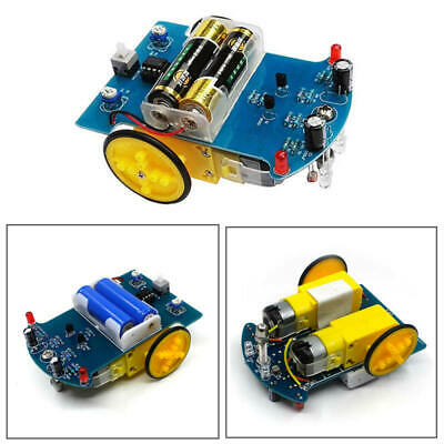 Smart Car Tracking Robot Car Chassis Diy Kit Reduction Motor For Arduino Qwe